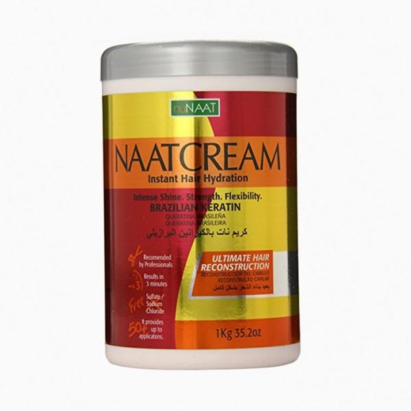 NUNAAT Crème conditionnante Brazilian Keratin 1kg (Naat Cream)
