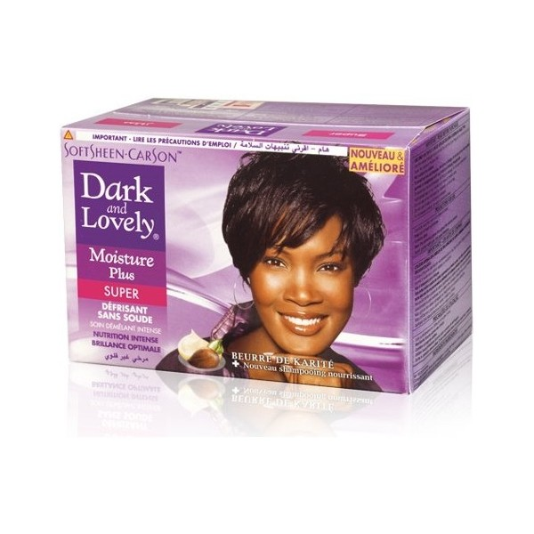 Dark & Lovely Kit défrisant sans soude formule Super