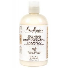 SHEA MOISTURE Moisturizing Shampoo 100% VIRGIN COCONUT OIL 384ml