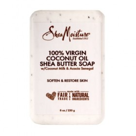 SHEA MOISTURE Savon 100% VIRGIN COCONUT OIL 230g