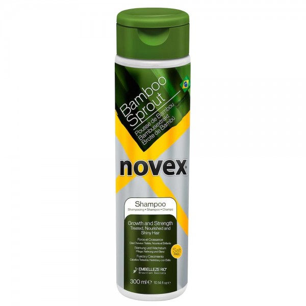 NOVEX Shampooing POUSSE DE BAMBOU 300ml (Bamboo Sprout)