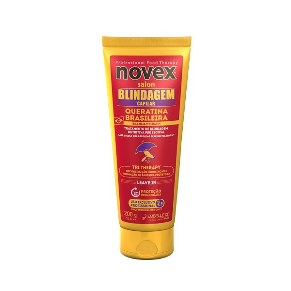 NOVEX Leave-in pre-brushing BRAZILIAN KERATIN 200g