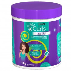 Leave-in SUPER CURLY pour boucles MY CURLS 1kg