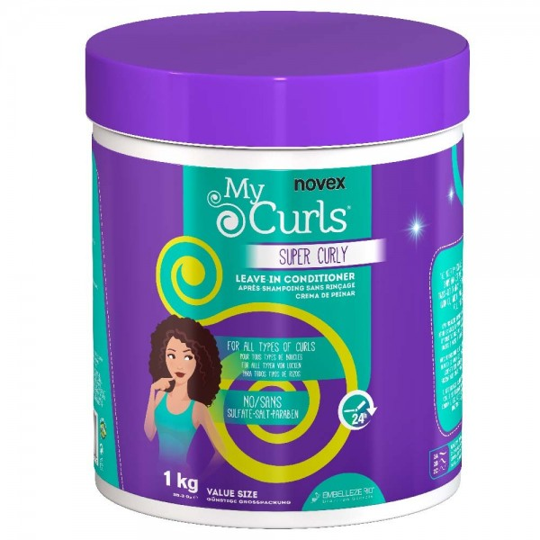 NOVEX Leave-in SUPER CURLY / MY CURLS 1kg