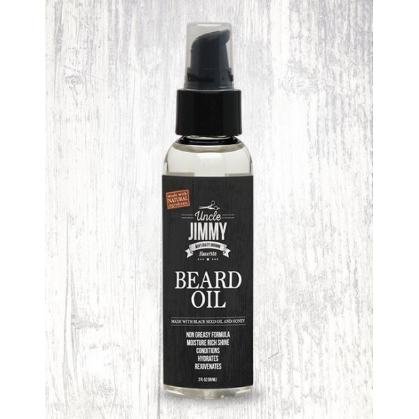 UNCLE JIMMY Huiles pour barbes 59ml (Beard Oil)
