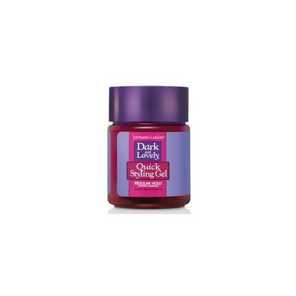 """Dark & Lovely Gel de fixation normale """"quick styling gel"""" 125ml"""