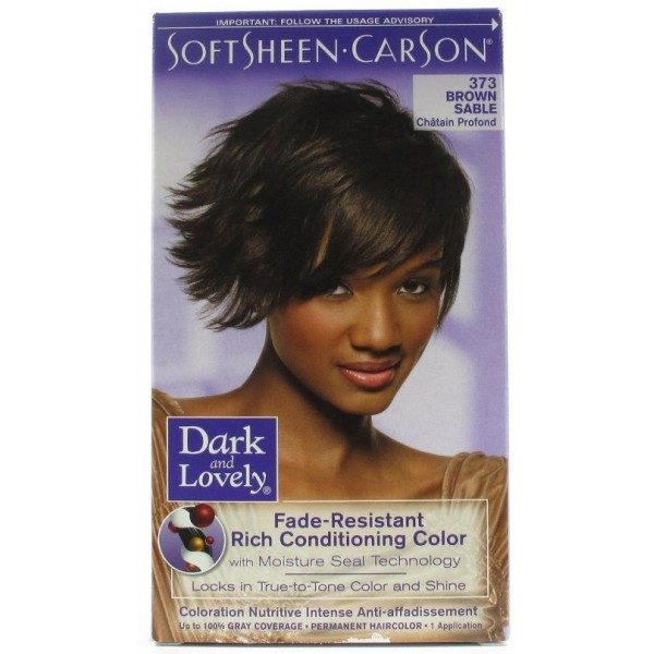 "DARK & LOVELY Coloration permanente ""nutritive intense"" 373"