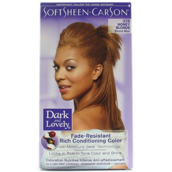 "DARK & LOVELY Coloration permanente ""nutritive intense"" 378"