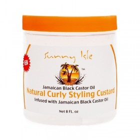 SUNNY ISLE JAMAICAN BLACK CASTOR OIL Styling Jelly 236ml (Curly Custard)