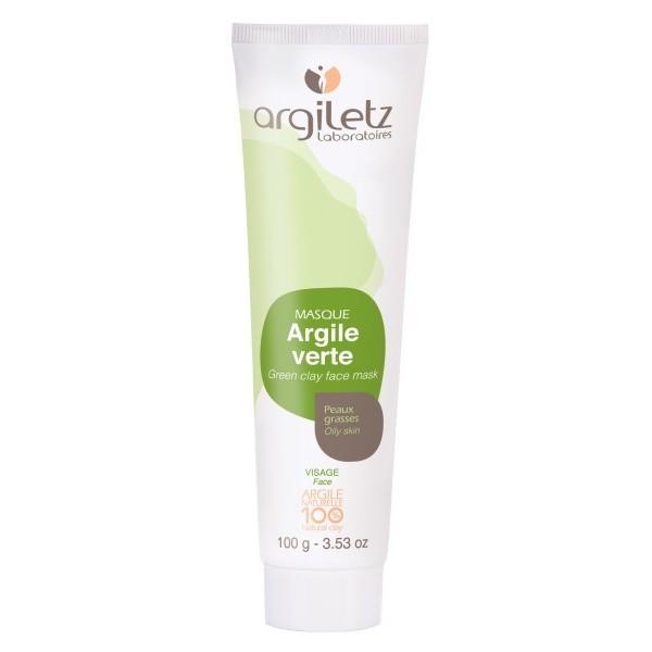 ARGILETZ Masque argile verte 100% NATURELLE 100g