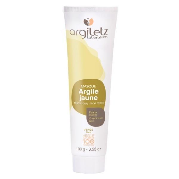ARGILETZ Argile jaune 100% NATURELLE 100g