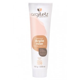 ARGILETZ Masque argile rose 100% NATURELLE 100g