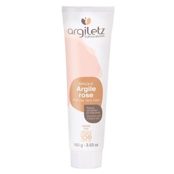 ARGILETZ Masque argile rose 100% NATURELLE 100g