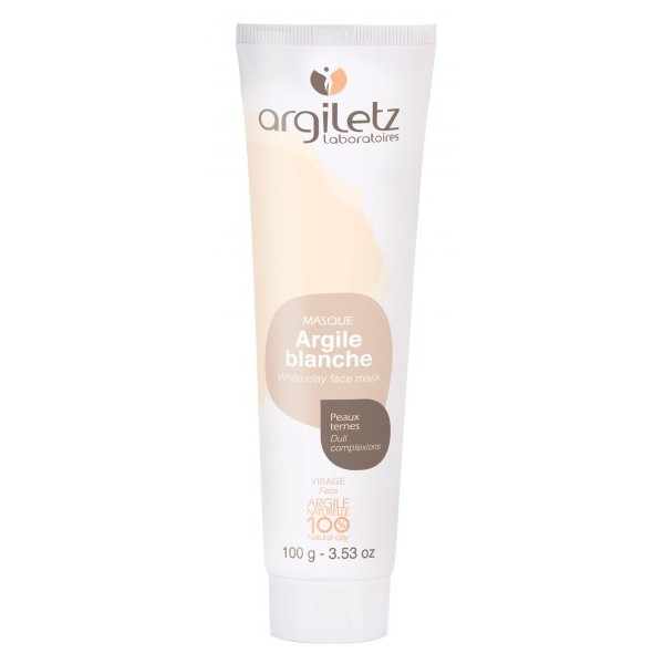 argiletz masque argile blanche 100 naturelle 100g. Black Bedroom Furniture Sets. Home Design Ideas