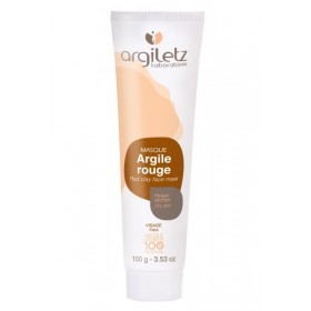 ARGILETZ Masque argile rouge 100% NATURELLE 100g