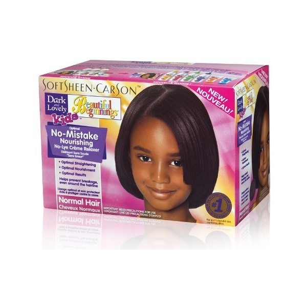 DARK & LOVELY Kids Kit défrisant enfants Beautiful Beginnings NORMAL