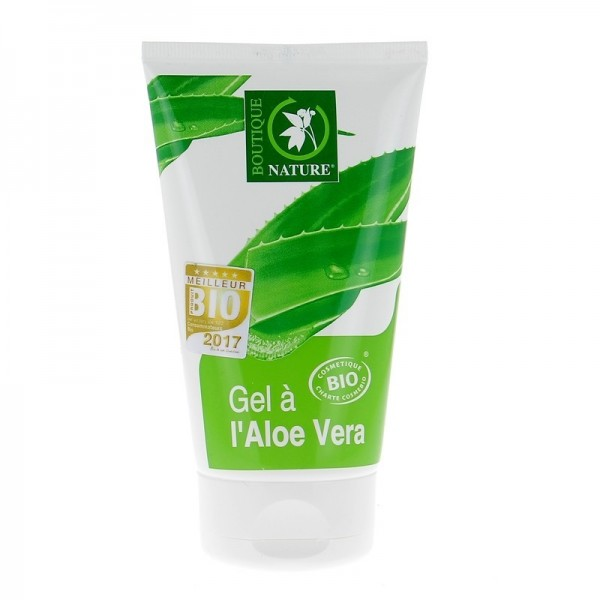 BOUTIQUE NATURE Gel à l'ALOE VERA BIO 125ml