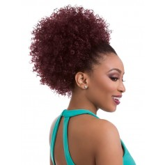SENSAS hairpiece NATURAL AFRO 10 (Instant Pony)