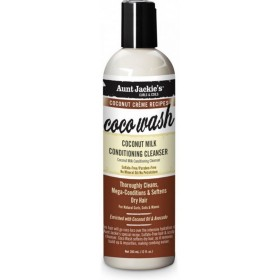 AUNT JACKIE'S Shampooing hydratant LAIT DE COCO 355ml (COCO WASH)