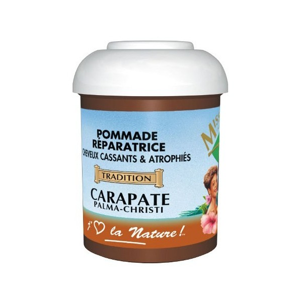 MISS ANTILLES Pommade capillaire Carapate 125ml