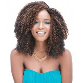 JANET natte 3C NATURAL HAIR 10""