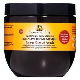SUNNY ISLE Masque réparateur HUILE DE RICIN NOIR 453g (Intensive Repair Masque)