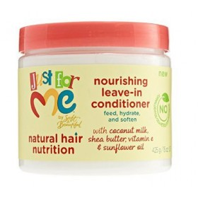 JUST FOR ME Moisturizing conditioner for children 425g (Nourishing leave-in conditioner)