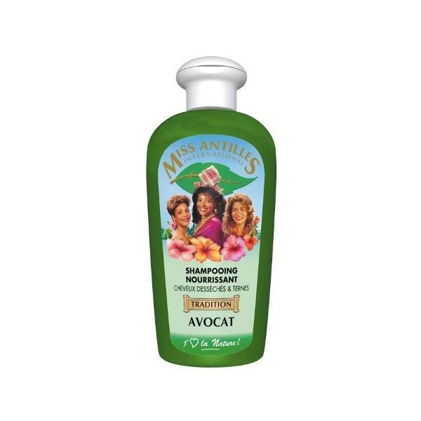 MISS ANTILLES Shampooing nourrissant à l'AVOCAT 250ml