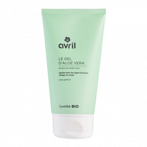AVRIL Gel à l'ALOE VERA BIO 150ml