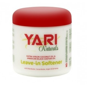 YARI Leave-in hydratant RICIN NOIR et COCO 475ml (Softener)