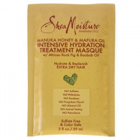 SHEA MOISTURE Masque hydratation intense MANUKA MAFURA 59ml