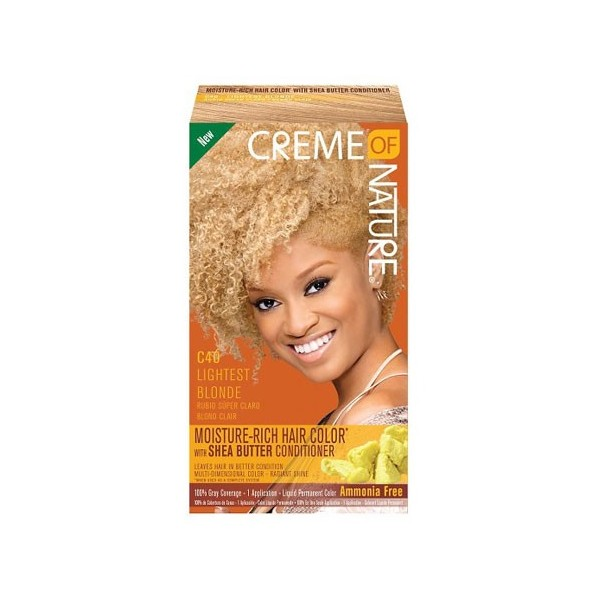 CREME ON NATURE nouveauKit coloration ultra doux C40 Blond Clair