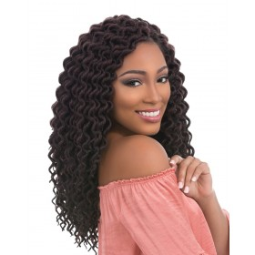 "SENSAS natte 3x FAUX LOCS CURLY 12"" (Loop)"