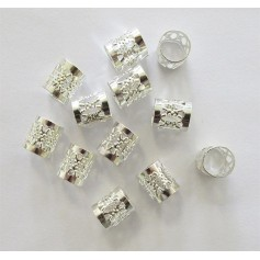 EDEN Beads for mats and locks SILVER 53414 format LARGE