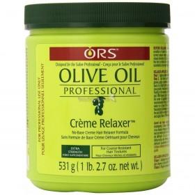 ORS Crème défrisante professionnelle EXTRA FORTE OLIVE OIL 1,8kg (Crème Relaxer)