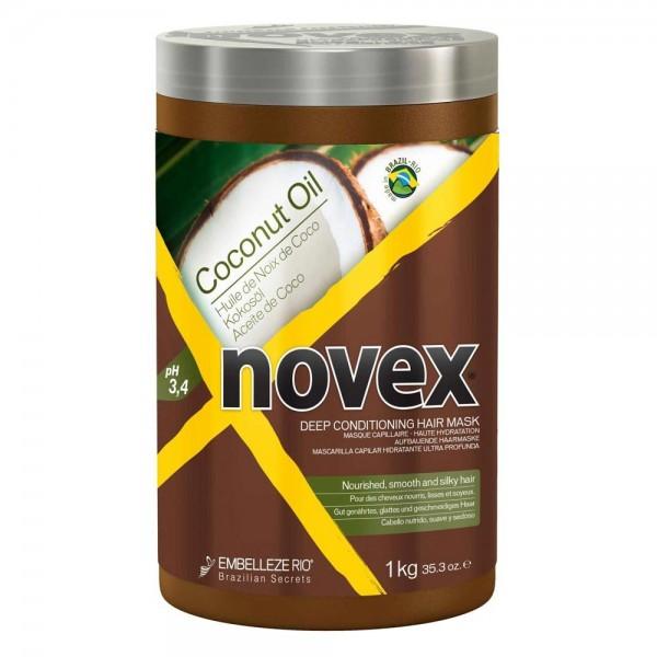 NOVEX Masque capillaire haute hydratation COCONUT OIL 1kg
