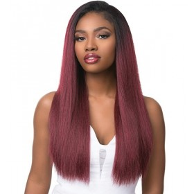 SENSAS demi-perruque BOUTIQUE KINKY STRAIGHT (Instant Weave)