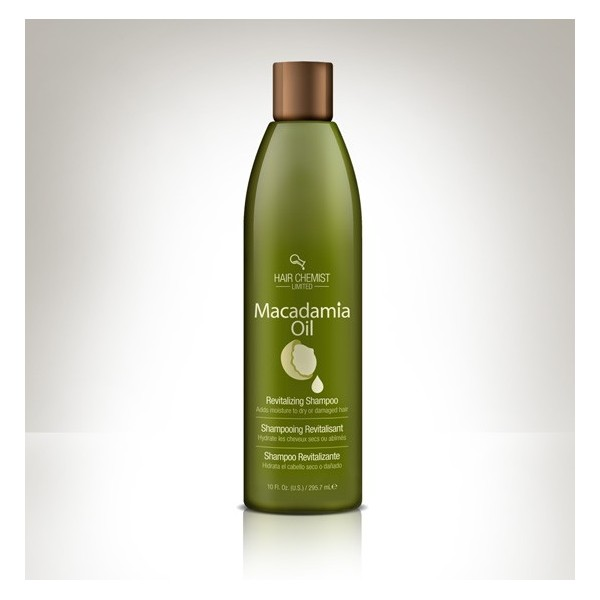 HAIR CHEMIST LIMITED Shampooing MACADAMIA OIL 295.7 (Revitalizing Shampoo)