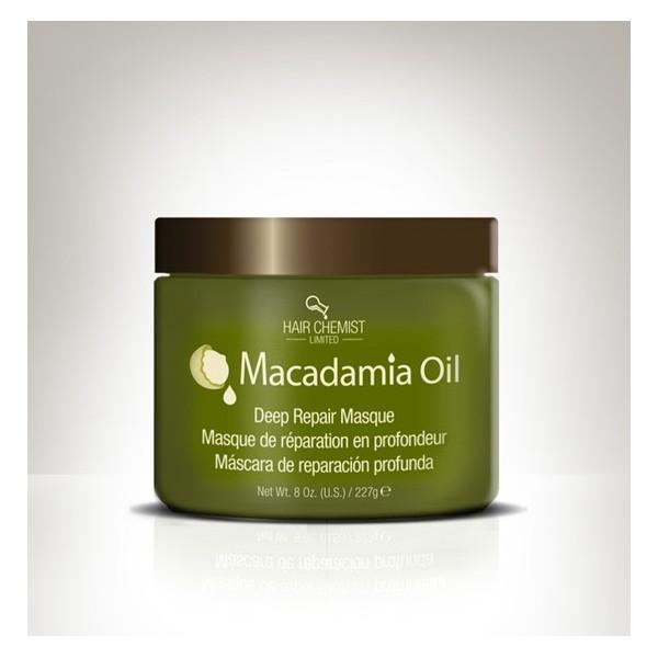 HAIR CHEMIST LIMITED Masque capillaire réparateur MACADAMIA OIL 227g