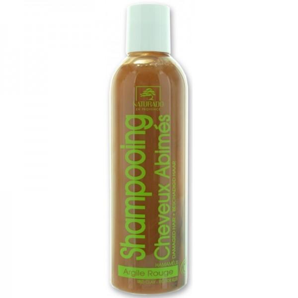 NATURADO Shampooing cheveux abîmés ARGILE ROUGE 200ml
