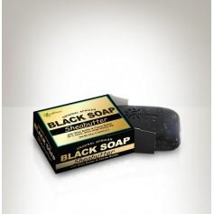 Savon noir enrichi au Karité 141G (BLACK SOAP)