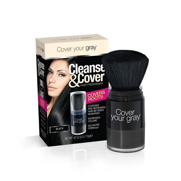COVER YOUR GRAY Poudre retouche racine (Cleanse & Cover) 12gShampooing sec retouche racine (Cleanse & Cover) 12g