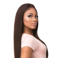 "SENSAS tissage STRAIGHT 12"",14"",16"" (B&N Lace Frontal)"