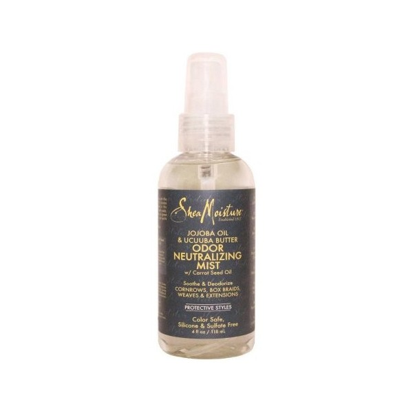 SHEA MOISTURE Spray neutralisateur d'odeur pour tresses et nattes JOJOBA & UCUUBA 118ml (Odor neutralizing mist)
