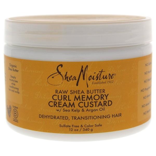 SHEA MOISTURE Crème transition pour boucles RAW SHEA BUTTER 340g (Curl Memory)