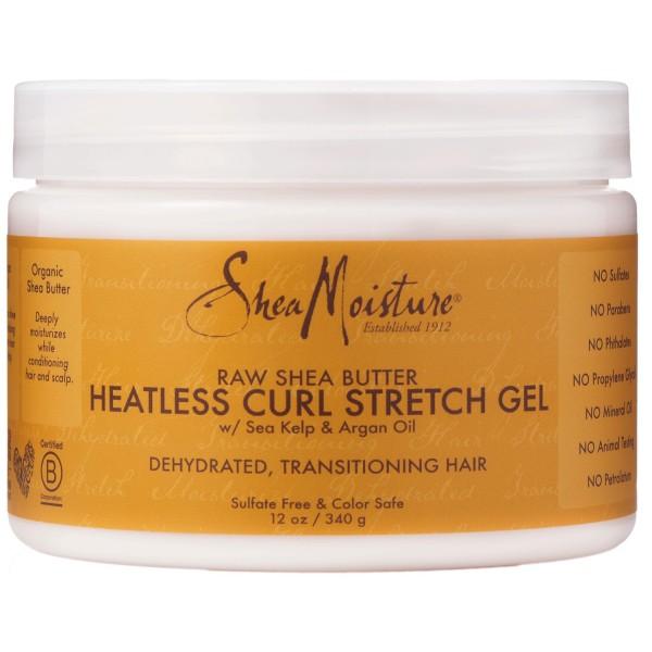 SHEA MOISTURE Gel transition boucles RAW SHEA BUTTER 340g (Curl Stretch)