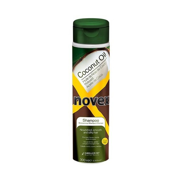 NOVEX Shampooing nourrissant HUILE DE COCO 300ml
