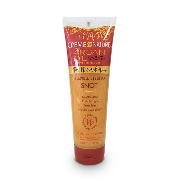 CREME OF NATURE Gel pour cheveux naturels 248ml (Fexible Styling Snot)