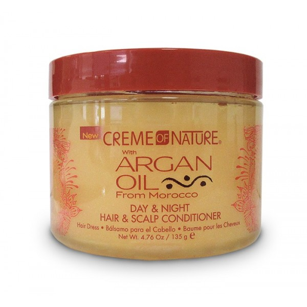 CREME OF NATURE Soin hydratant pour cheveux et cuir chevelu 135g (Hair & Scalp Conditioner)