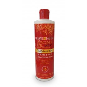 CREME OF NATURE Crème activatrice de boucles ARGAN OIL 354ml